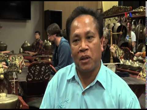 Midiyanto, Dosen Musik Gamelan Jawa di University of California - Liputan Feature VOA