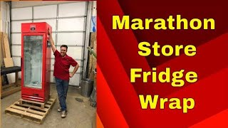 Marathon Water Fridge Wrap Service Rm wraps Oct 2018