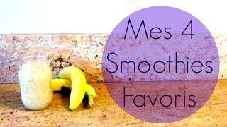 Mes 4 recettes de smoothies l AFRENCHIEINLONDON