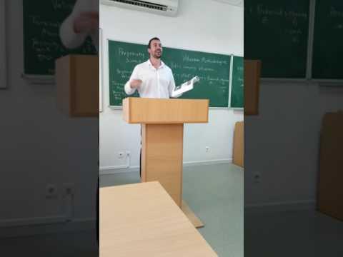 Investment Banking University - Kyiv Mohyla Academy Guest Professorship - June 14, 2017 - Video 2
