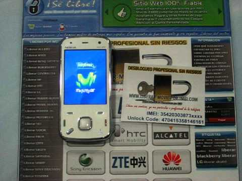 Liberar Nokia N86 por codigo imei, unlock www.liberar-movil-por-imei.com