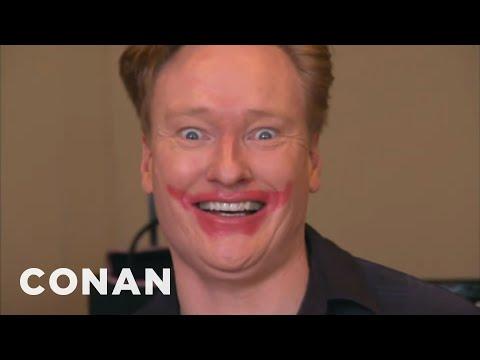 Conan Becomes A Mary Kay Beauty Consultant - CONAN on TBS