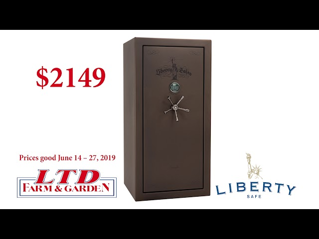 Liberty Safe June 2019 - LTD Farm and Garden