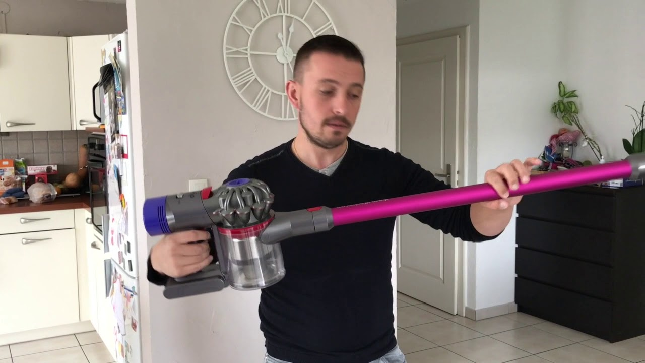 test dyson animal pro v7 lesinities youtube. Black Bedroom Furniture Sets. Home Design Ideas