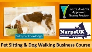 NARPS UK Pet Sitting Business Training Course Trailer