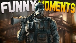 Rainbow 6 Siege Funny Moments - Throwing Hostages, Boot Camp, Bad Players