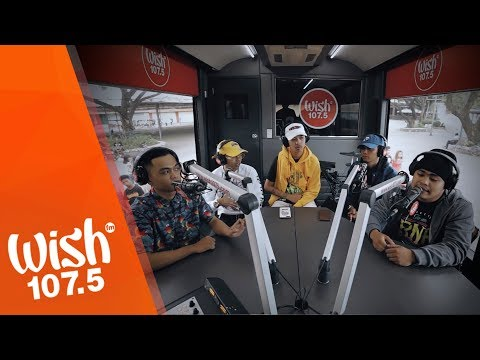 O.C. Dawgs performs Pauwi Nako LIVE on Wish 107.5 Bus