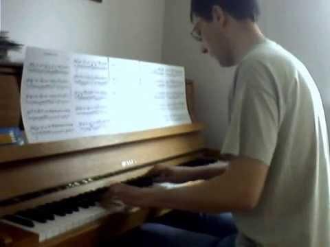 Radiohead  - Polyethylene Part 2 - Piano cover