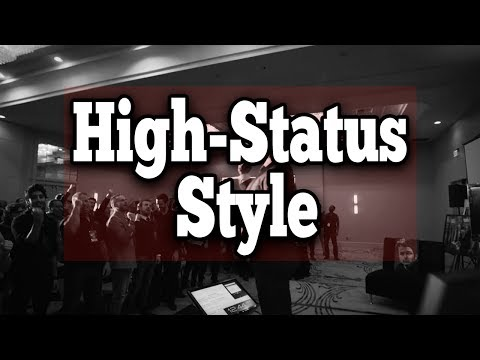 """High Status Style - """"People Do Judge A Book By Its Cover.""""   Ryan Magin Presentation"""
