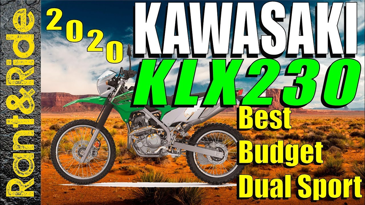 2020 Kawasaki KLX230 Best New Rider Budget Friendly Dual