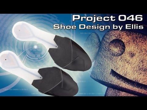 RCNC Projects 46: Shoe Design by Ellis Droog