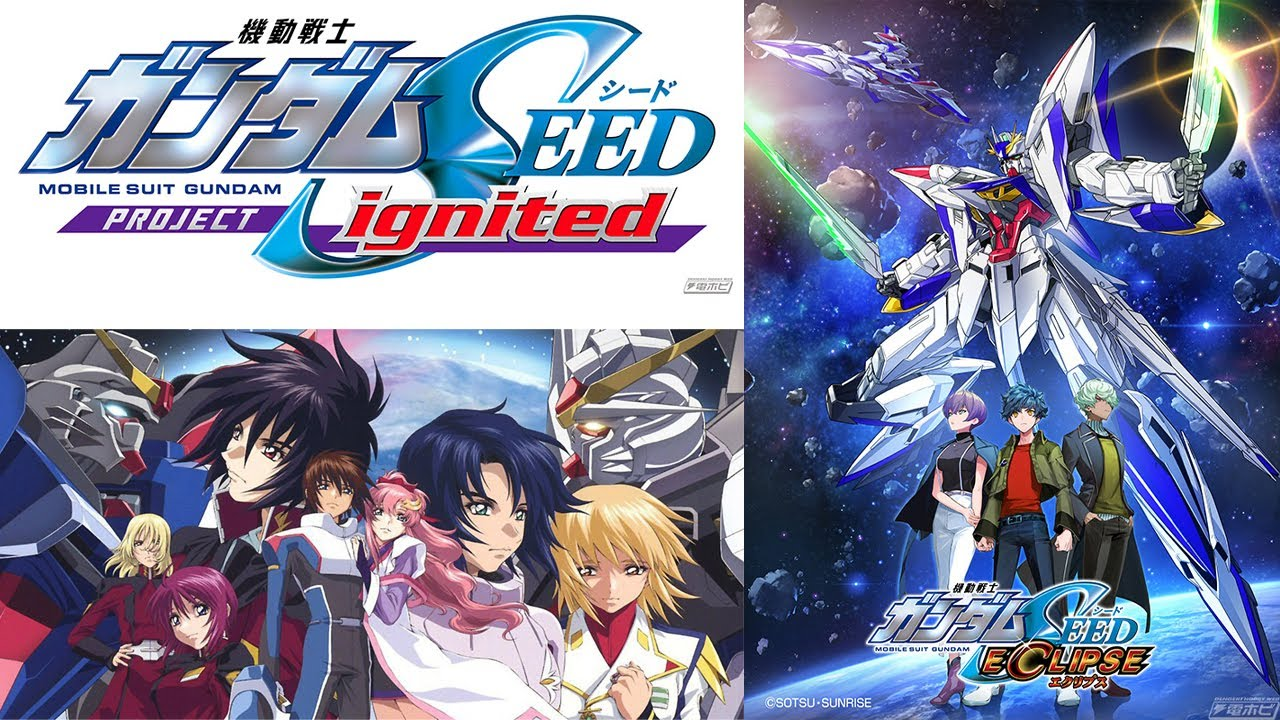 New Gundam SEED Anime Film, Video Game, & Spin-off Manga Gundam Seed  Eclipse Announced! - YouTube