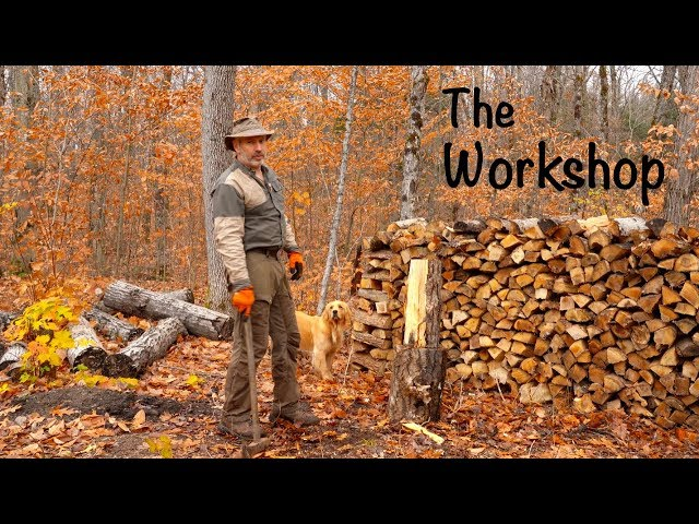 The Workshop | Choosing a Building Site for the Off Grid, No Power Workshop