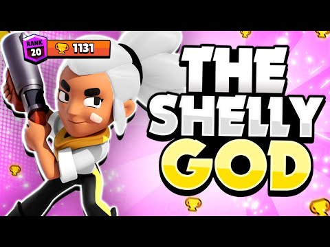 The Shelly GOD! - He Pushed His Shelly To 1131 Trophies & #1 Brawler Overall! - Pro Gameplay!