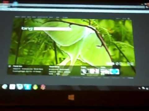 PC Remote Windows: Use desktop feature