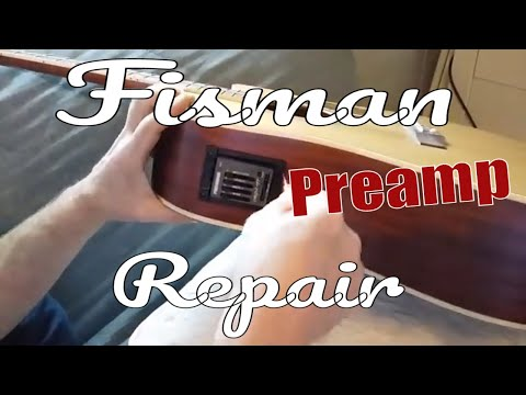Fishman Preamp/pickup Repair