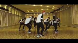 LuHan鹿晗_Football Gang/超级冠军_Dance Practice Video练习室版MV