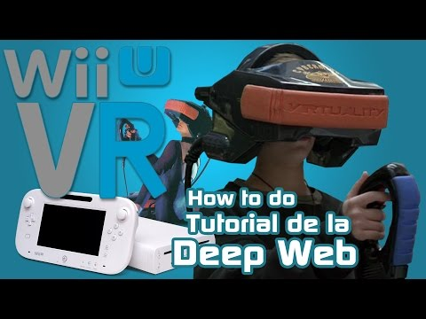 WiiU VR Nintendo Wii Uculus Rift - How to Realidad virtual de nintendo tutorial deep web