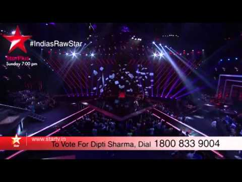 A sneak peek into Dipti's performance on India's Raw Star