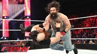 Erick Rowan vs. Luke Harper: Raw, January 5, 2015