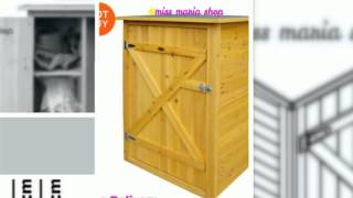 Garden Cupboard Flat Roof