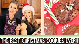 Holiday Baking || Caramel & Chocolate Filled Cookies Recipe