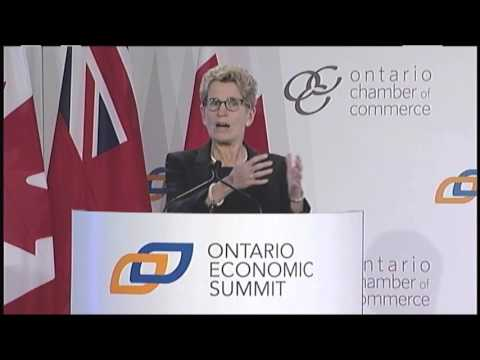 A Conversation with the Premier of Ontario