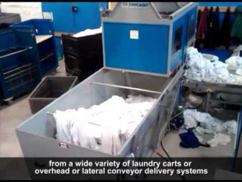 Chicago Cascade: The Next Generation Linen Separating System