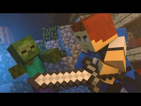 ♪ Fighting For Love  A Minecraft Parody of Waiting For Love  Avicii Music