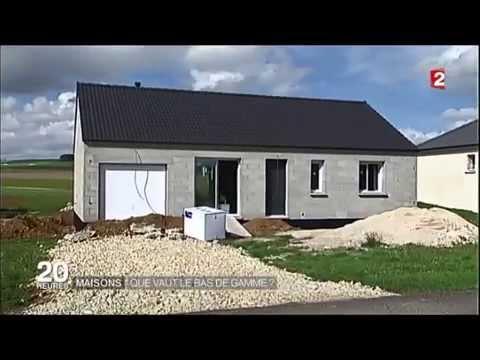 Reportage Jt De France2 Du 16 09 15 Les Maisons Pas Cheres En