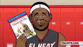 Lebron James Crying After Loss (HDQ) MIAMI HEAT CRYGATE SCANDAL BABY BRON BRON MAVERICKS WIN