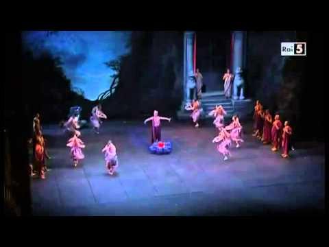 (Parte) - Ballet la bayadere Svetlana Zakharova Roberto Bolle teatro La Scala