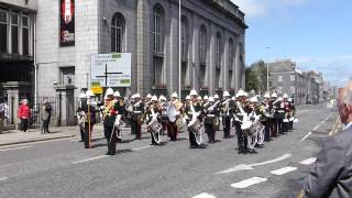 Airborne Forces Day 2015 Aberdeen - Band of the Royal Marines Scotland