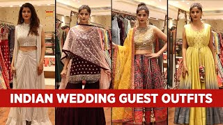Indian Wedding Guest Outfit Ideas 2020 - Indian Wedding Lookbook in HINDI