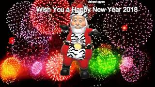 Happy New Year 2018 New Year Song Wish You a Happy New Year NewYear2018