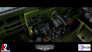 Part 2 of 4: Wings of POWER 3 P-47 Startup and takeoff demonstration with Accu-Sim
