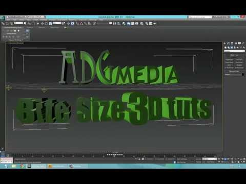 Import and add Sound to your 3d max projects 3Ds max tutorial tips 2013