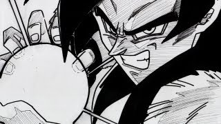 HOW TO DRAW GOKU SSJ4 KAMEHAMEHA 超サイヤ人フォー 孫悟空