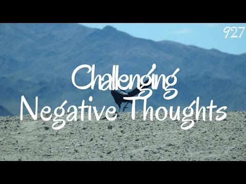 Challenging Negative Thoughts From Anxiety Attacks