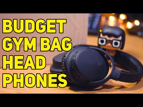 Budget Gym Bag Headphones: Smartomi HOOP Bluetooth Over-Ear Headphones