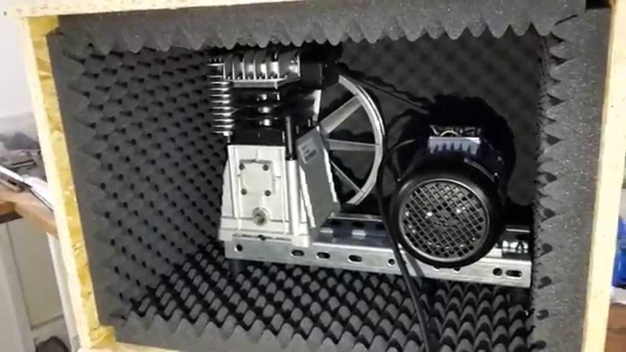 Test Compressor Noise Dampening Box Youtube