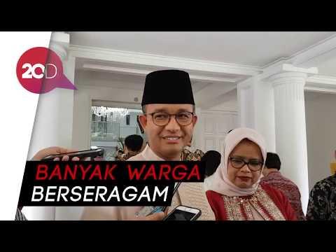Disoraki saat Halal Bihalal di Bogor, Anies: Saya Salami Satusatu