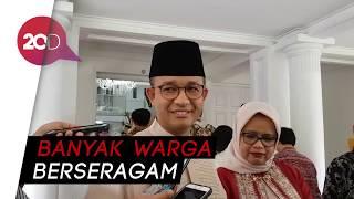 Disoraki saat Halal Bihalal di Bogor, Anies: Saya Salami Satu-satu