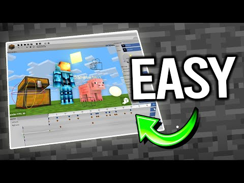 How To Make A Minecraft Animation (Free Program)