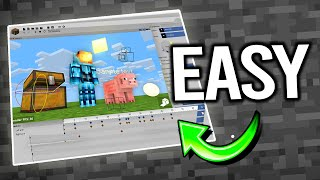 This Program Makes Animating Minecraft EASY | Animation For Beginners(Here is an easy way to get started with making Minecraft Animations. An acceptable substitute for Cinema 4d, Blender, or Maya. Use it for fun or use it to make ..., 2015-12-24T23:33:37.000Z)