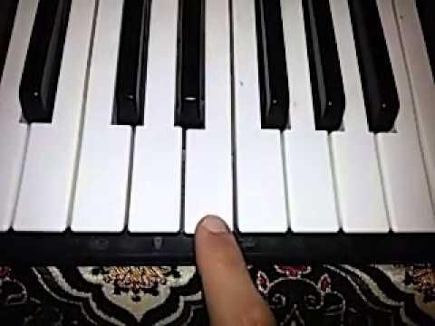 Chawki kayna wla makaynach piano tutorial