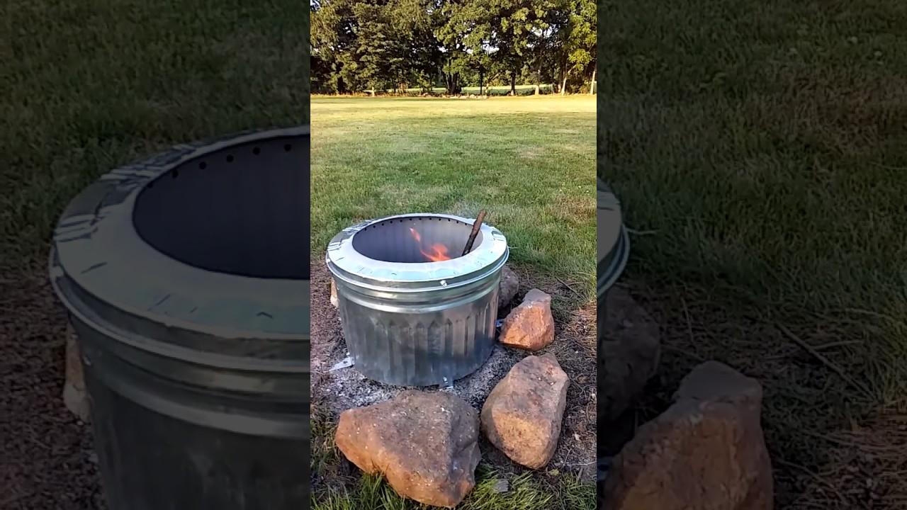 Smokeless Fire Pit Fail - Smokeless Fire Pit Fail - YouTube