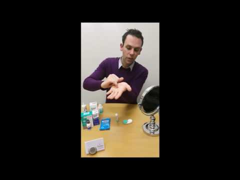 How to Clean your Ortho K lenses