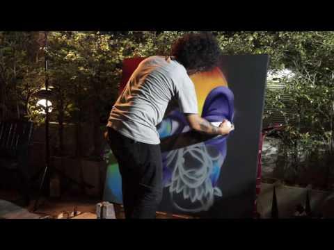 ASIN: Amazing Live Graffiti in Bangkok