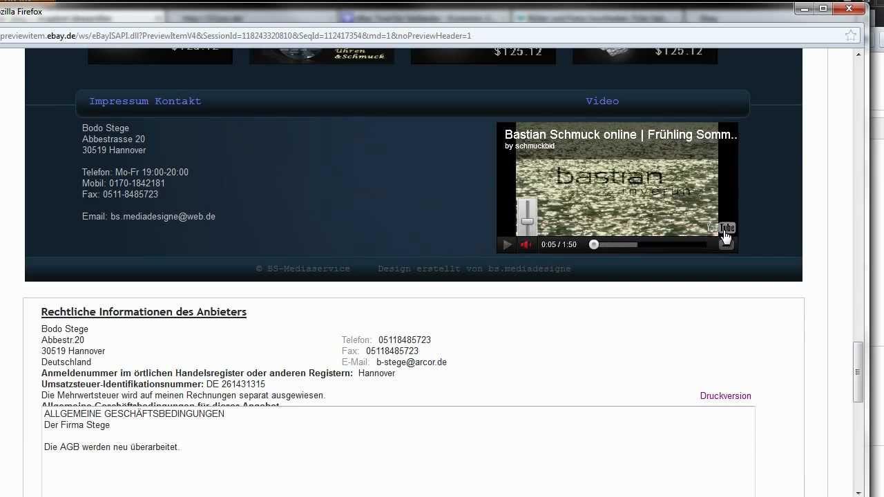 Ebay Vorlagen Bearbeiten / Deutsch - YouTube